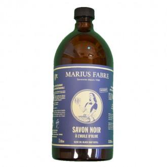 Savon noir liquide à l'huile d'olive 1L - My Eco House - boutique zéro déchet