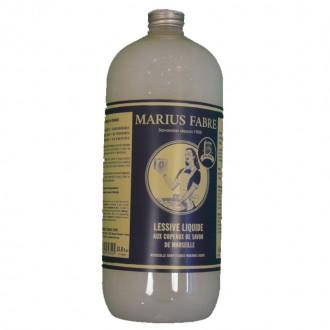 Lessive liquide au Copeaux de Savon de Marseille 1L - My Eco House - boutique zéro déchet