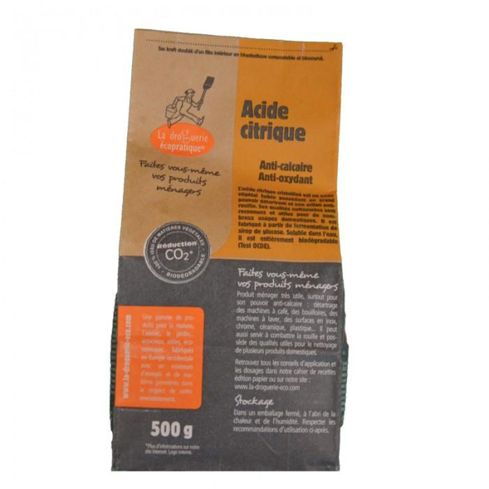Acide citrique - 500g - My Eco House - boutique zéro déchet