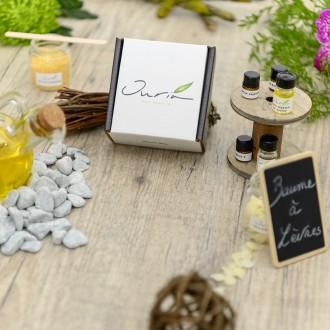 Box DIY OURIA baume à lèvres - My Eco House - Haute Savoie - 74House