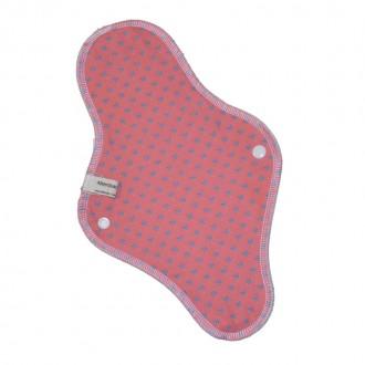 Serviette hygiénique lavable spéciale nuit - rose - Alterosac - My Eco House
