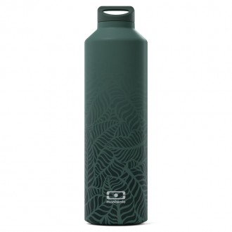 Bouteille Isotherme 50cl - MB Steel Jungle - My Eco House 74 - Boutique zéro déchet