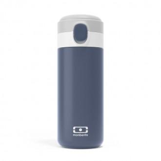 Bouteille Isotherme Sport 360ml - MB Pop Bleu infinity - My Eco House 74 - Boutique zéro déchet