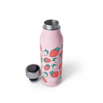 Bouteille Isotherme Sport 360ml -MB Genius Strawberry - My Eco House 74 - Boutique zéro déchet