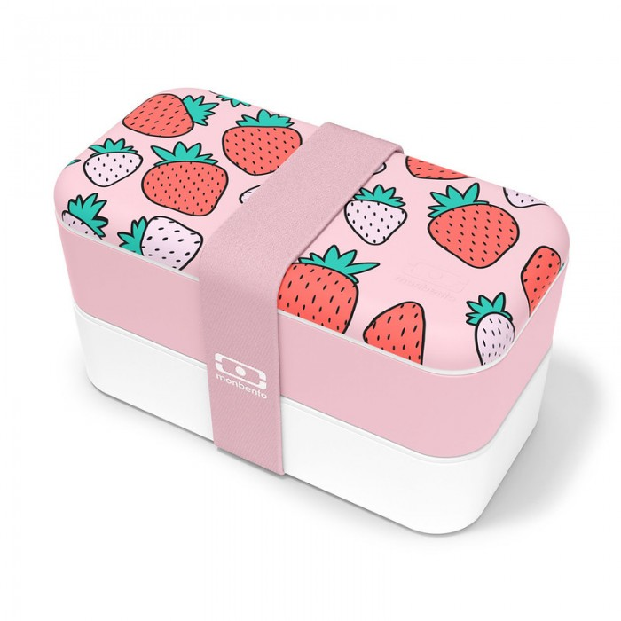 Lunch box - MB original Strawberry 1L Made in France - My Eco House 74 - Boutique zéro déchet