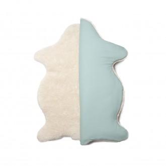 Tapis peau d'agneau Papayéou - Boutique zéro déchet 74 - My eco House