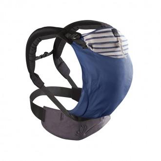 Porte bébé préformé - Mei Tai - Marin - Boutique zérodéchet 74 - My Eco House