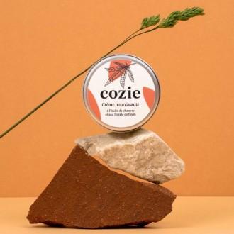 Crème nourissante visage - à l'huile de chanvre et eau florale de thym - 30ml - Boutique zérodéchet 74 - My eco House