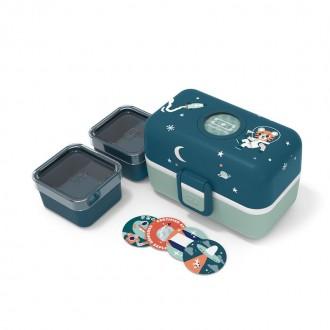 Le bento des enfants - MB Tresor Bleu Cosmic - Boutique zérodéchet 74 - My Eco House