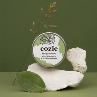 Masque visage purifiant - à l'eau d'hamamélis et à l'huile de noisette - 100 ml - Boutique zéro déchet 74 - My Eco House