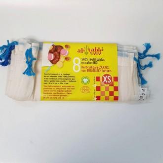 Sac Vrac en coton biologique - boutique zéro déchet 74 - My Eco House