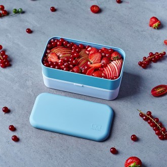 Lunch box -  MB original Bleu Crysral 1L Made in France-boutique zéro déchet 74 - My eco House