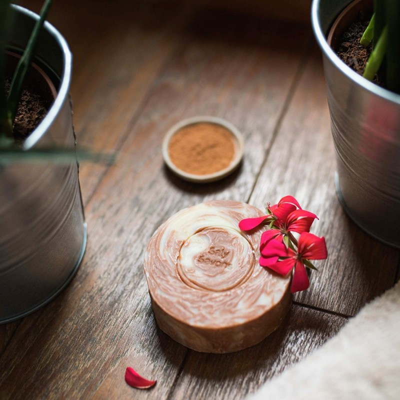 Savon bourrache et linaloé - avec huiles essentielles