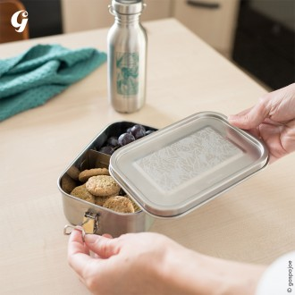 Yummy 800 Ml - Gravée Ginkgo - Boutique zéro déchet 74 - My eco House