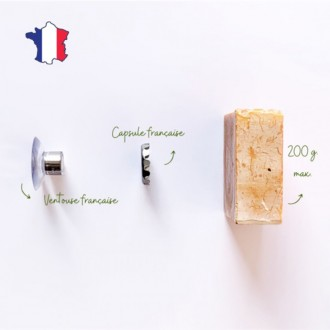 Porte savon minimaliste - Aimanté