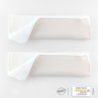 2 Absorbants lavables en microfibre