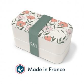 Lunch box - MB original Bloom 1L Made in France - Boutique zéro déchet, épicerie Vrac My Eco House 74
