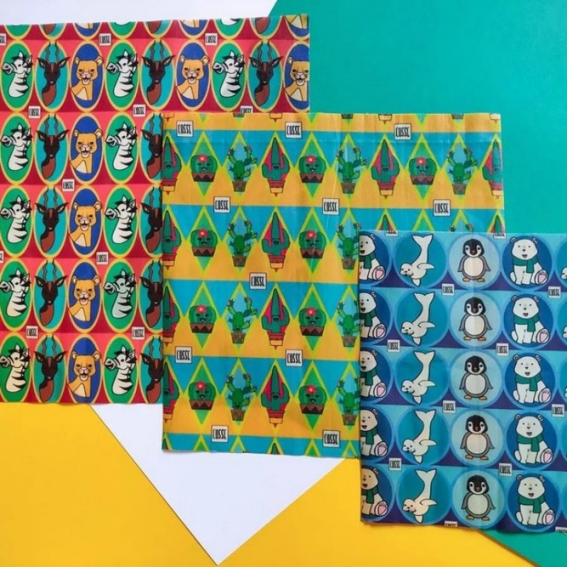 Lot de 3 emballages réutilisables (L,M,S) - Enfant