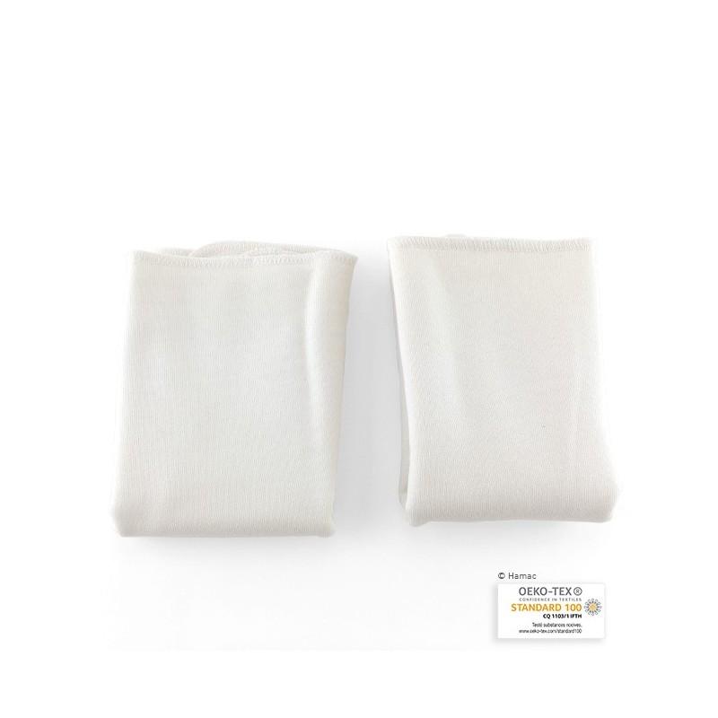 2 Absorbants lavables en coton biologique - HAMAC - My Eco House