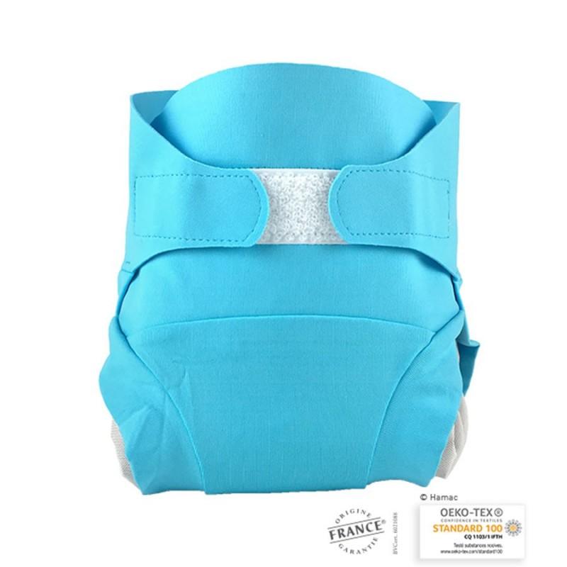Couche lavable HAMAC - Bleu poséidon