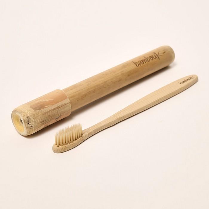 Kit brosse à dents en bambou - Poils naturels - My Eco House