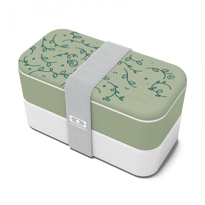 Lunch box - MB original English garden 1L Made in France - MONBENTO - My Eco House