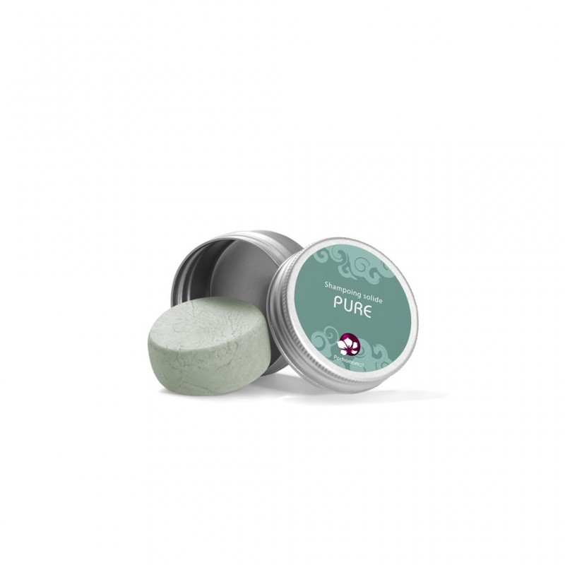 Shampoing solide Pure - Format voyage - Cheveux normaux - My Eco House