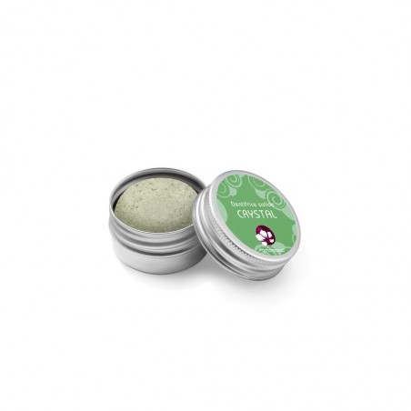 Dentifrice Solide Crystal - boite métal rechargeable- Pachamamai - My eco House