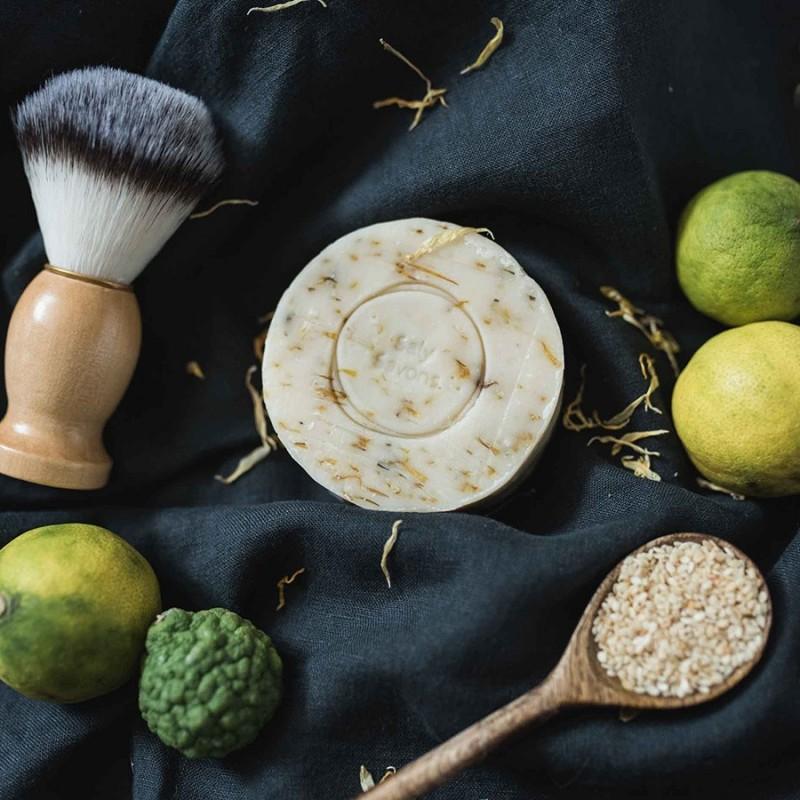 Savon sésame et agrumes - avec huiles essentielles
