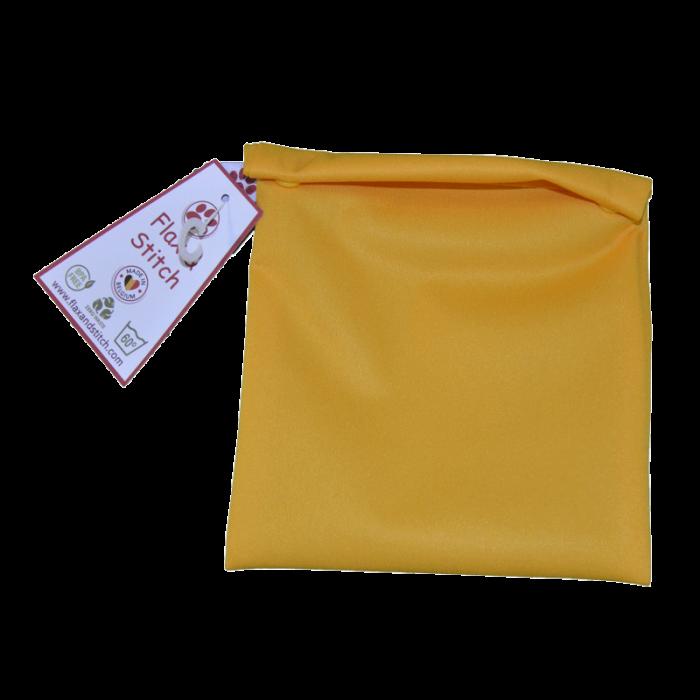 Sac à congélation réutilisable - sungold - flax and stitch - my éco house