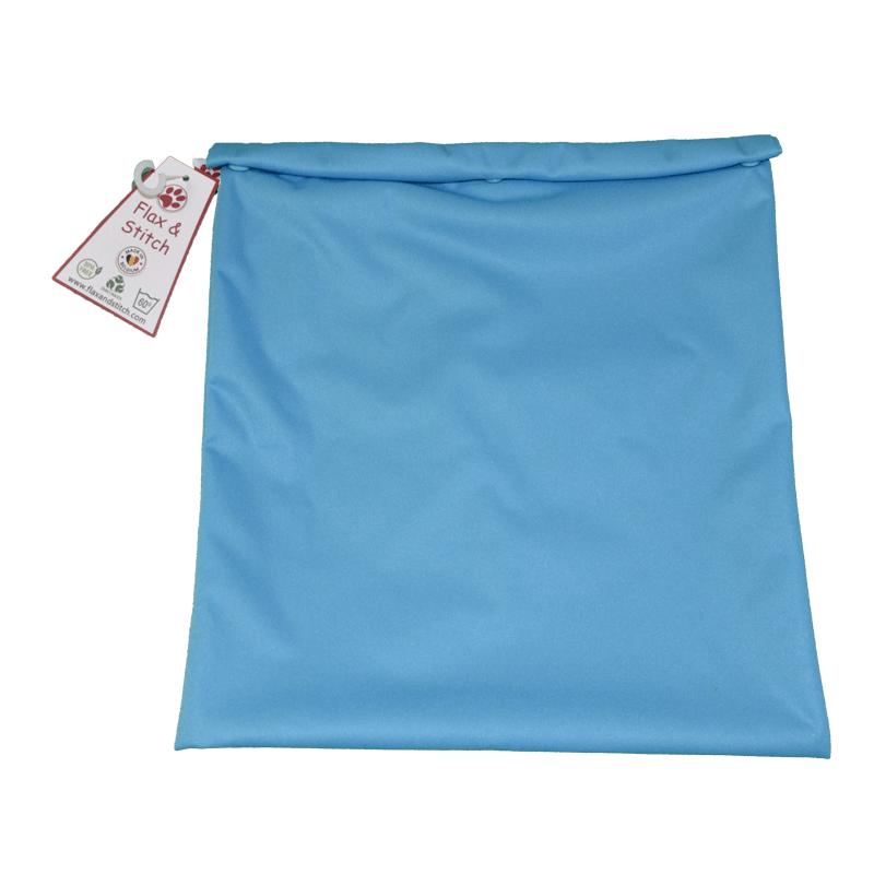 Sac à congélation réutilisable - turquoise - flax and stitch - my éco house
