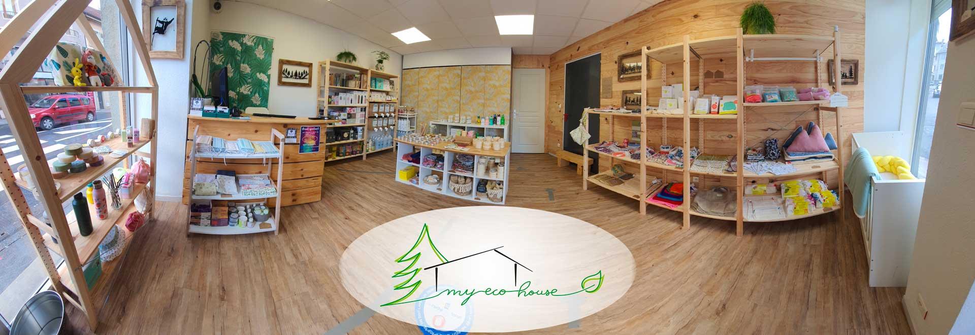 Boutique zéro déchet My Eco House La Roche sur Foron 74800 Haute Savoie