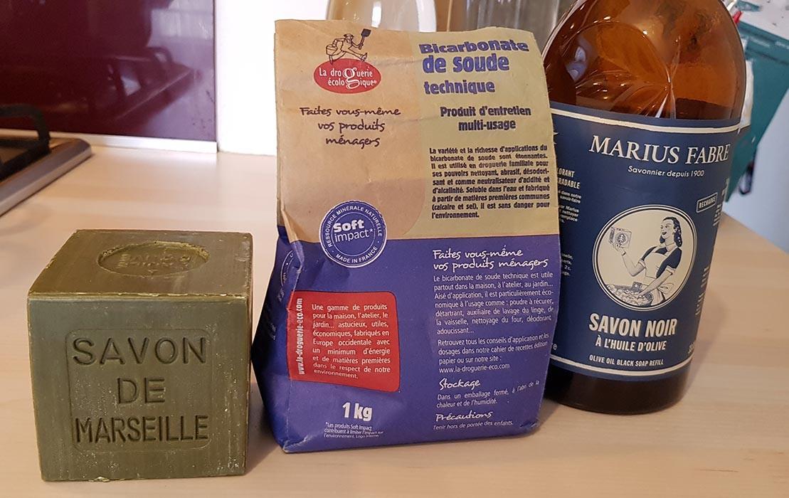 Lessive maison au savon de Marseille à l'huile d'olive